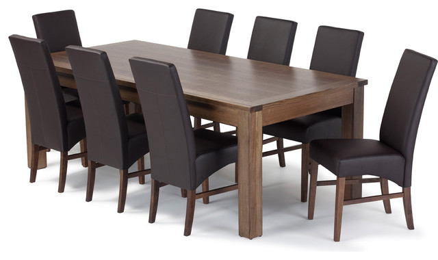 modern dining tables and chairs photo - 2