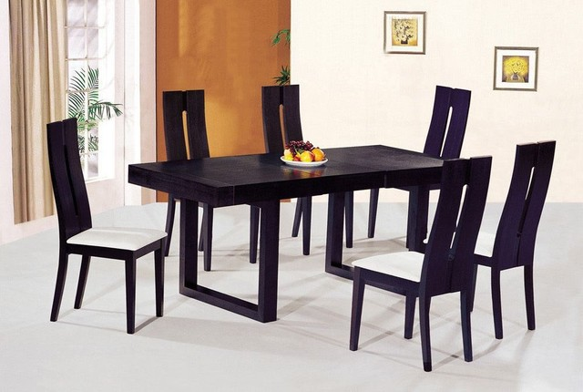 modern dining tables and chairs photo - 3