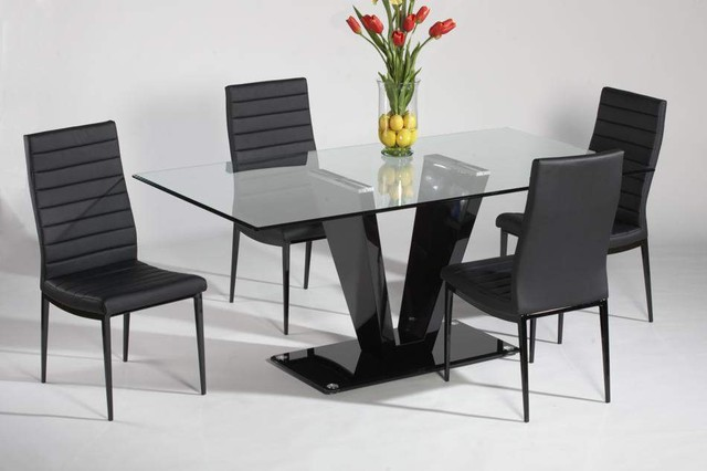 modern dining tables and chairs photo - 5