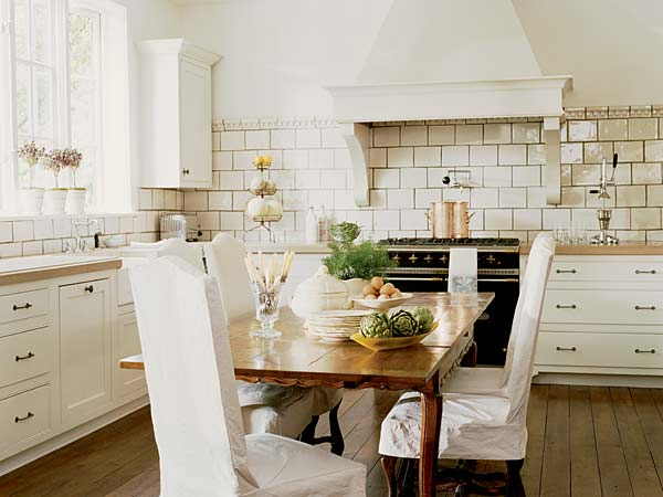 modern french country kitchen decor photo - 4