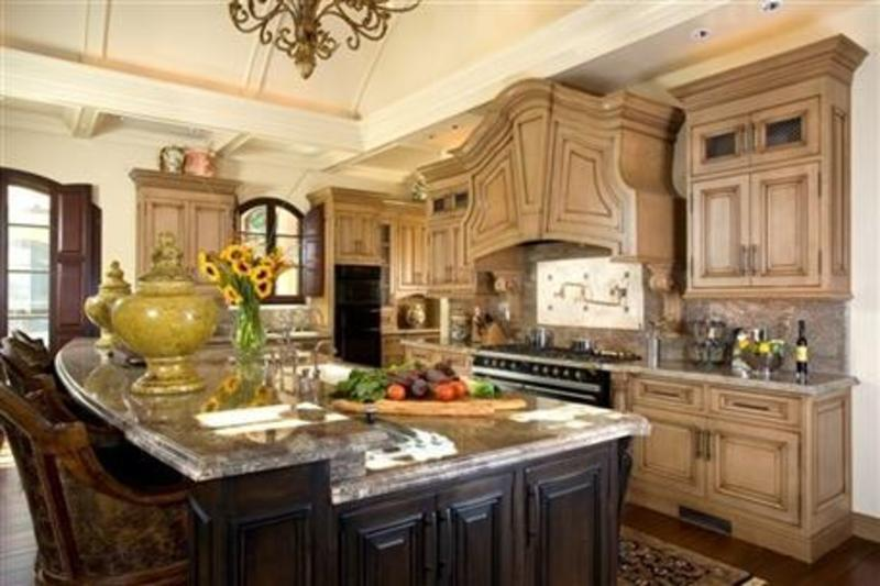 modern french country kitchen decor photo - 6