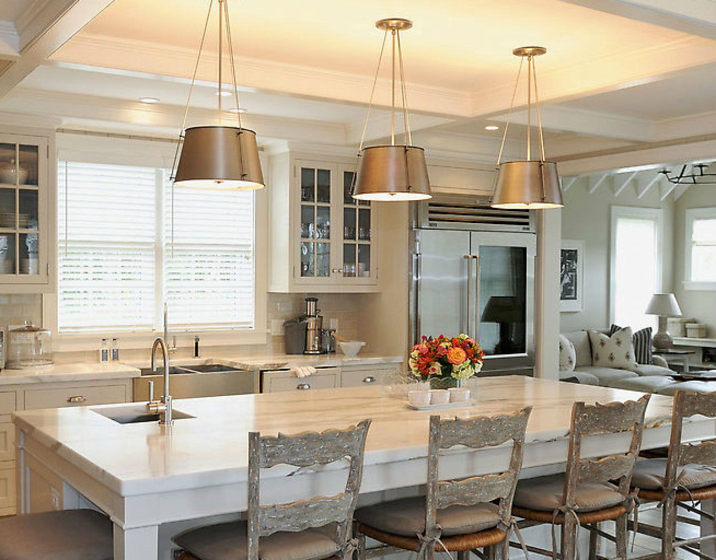 modern french country kitchen designs photo - 1