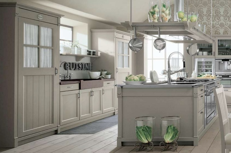 Modern French Country Kitchen Designs Photo   4