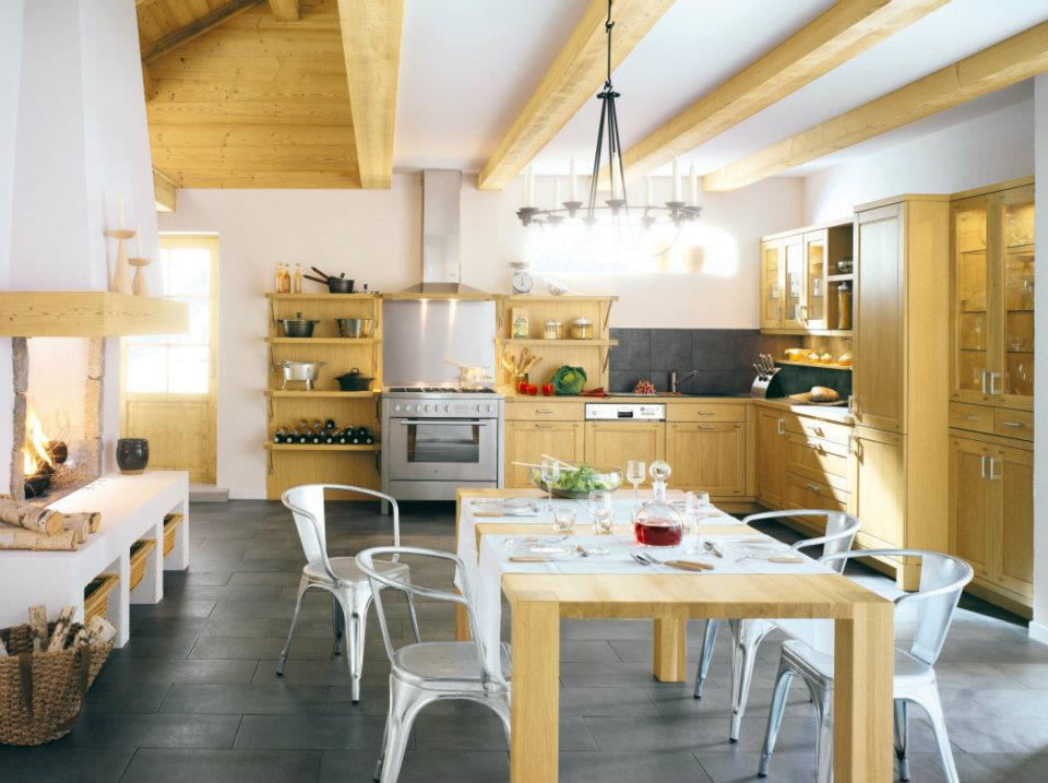 Modern french country kitchen designs   Interior & Exterior Doors