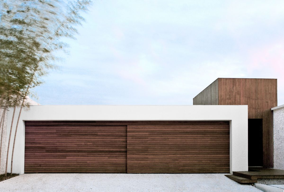 modern garage door designs photo - 1