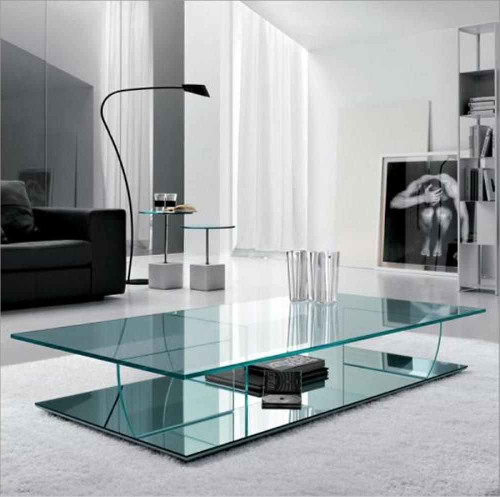 modern glass coffee table designs photo - 3