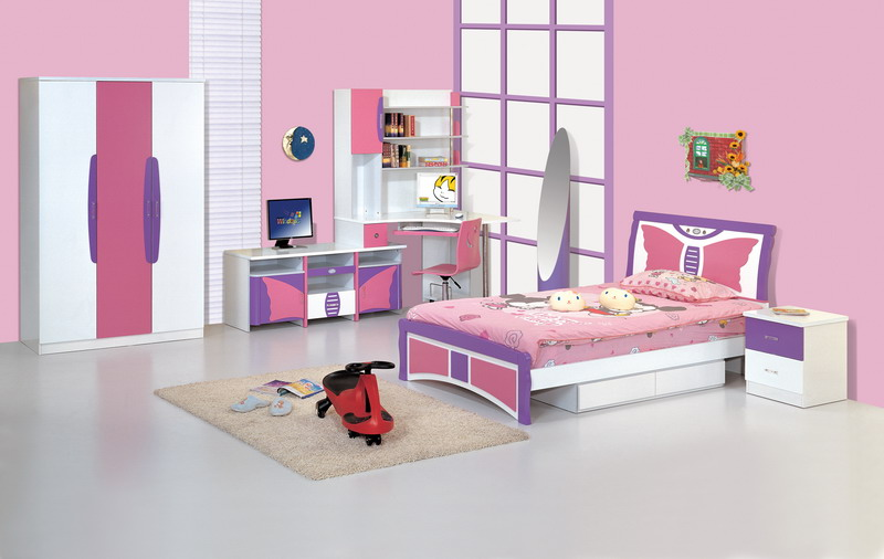 modern kids bedroom furniture photo - 1
