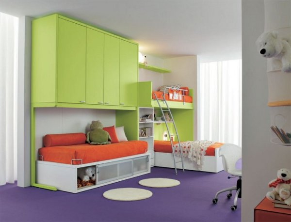 modern kids bedroom furniture photo - 3