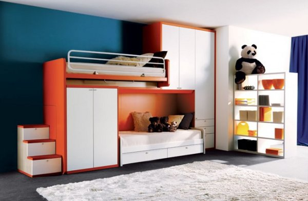 modern kids bedroom furniture photo - 4