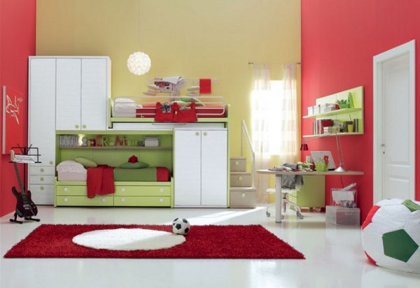 modern kids bedroom furniture photo - 5