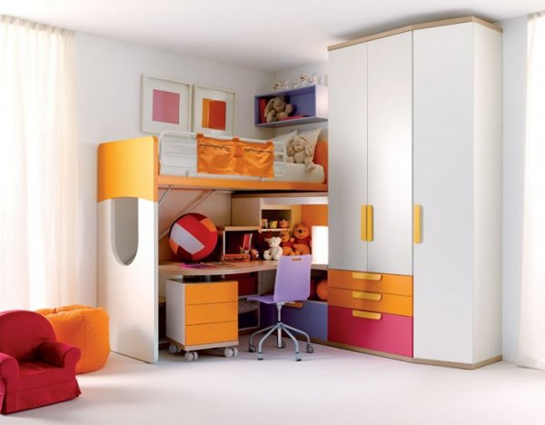 modern kids bedroom furniture photo - 6