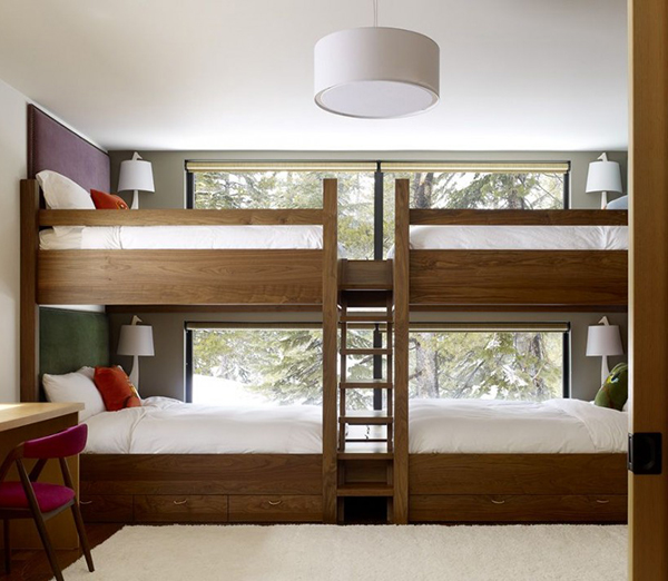 modern kids furniture bunk beds photo - 2