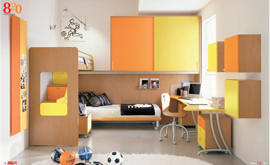 modern kids furniture bunk beds photo - 5