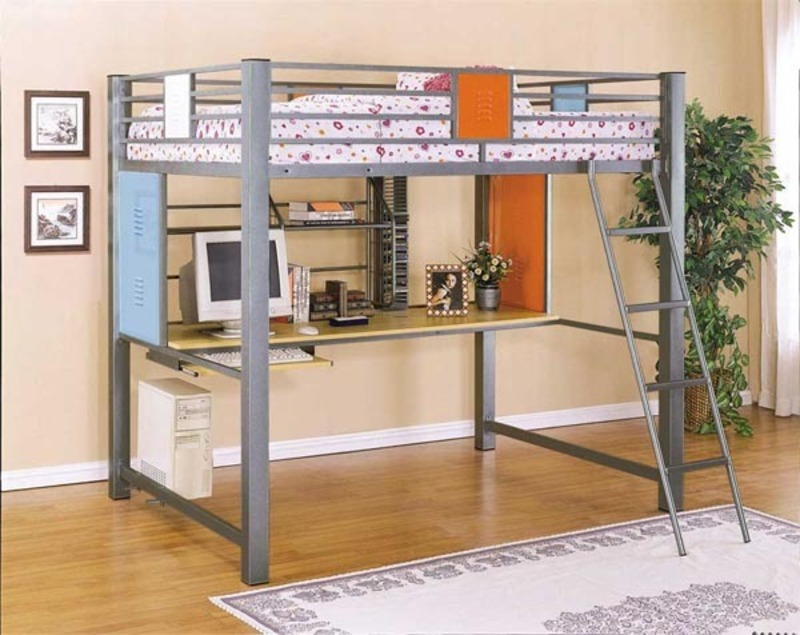 modern kids furniture bunk beds photo - 6