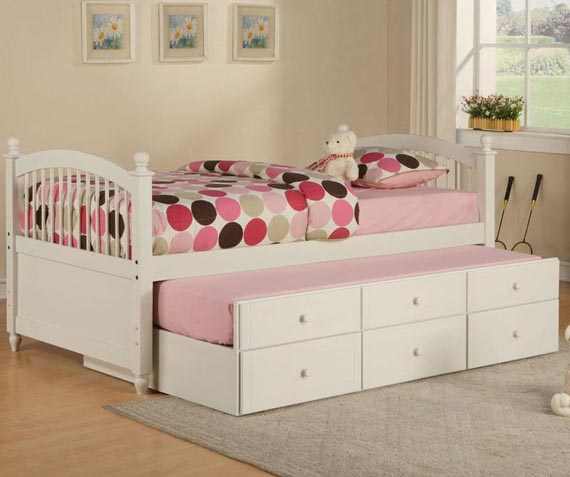 modern kids furniture twin bed photo - 1