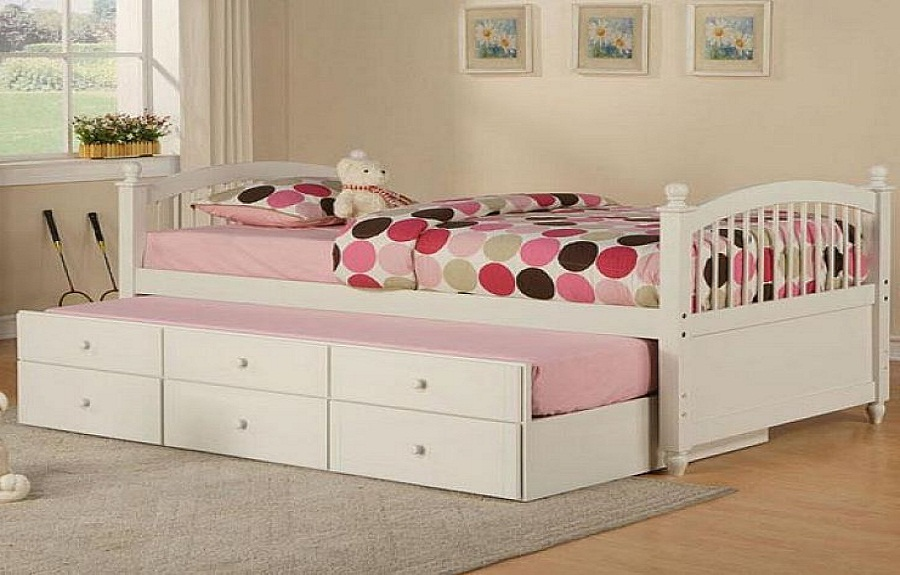 modern kids furniture twin bed photo - 2