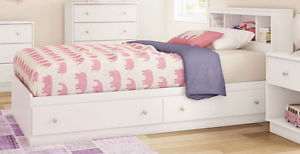 modern kids furniture twin bed photo - 5