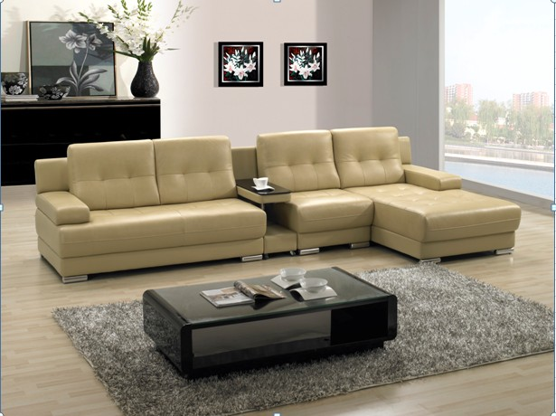 modern living room sectional sofas photo - 5
