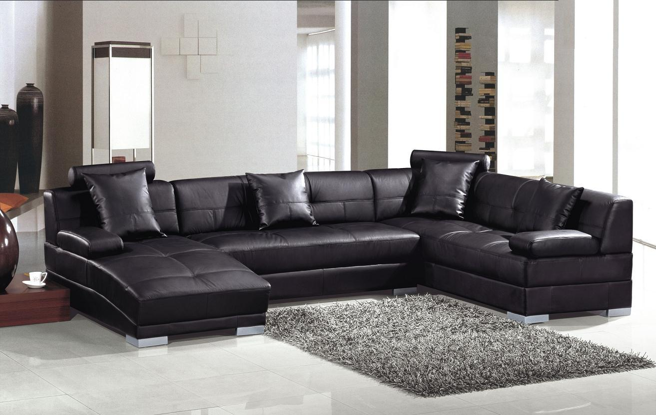 modern living room sectional sofas photo - 6