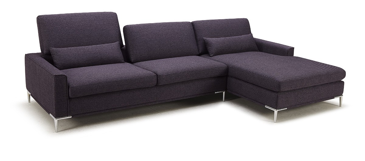 modern sectional sofa chaise photo - 1