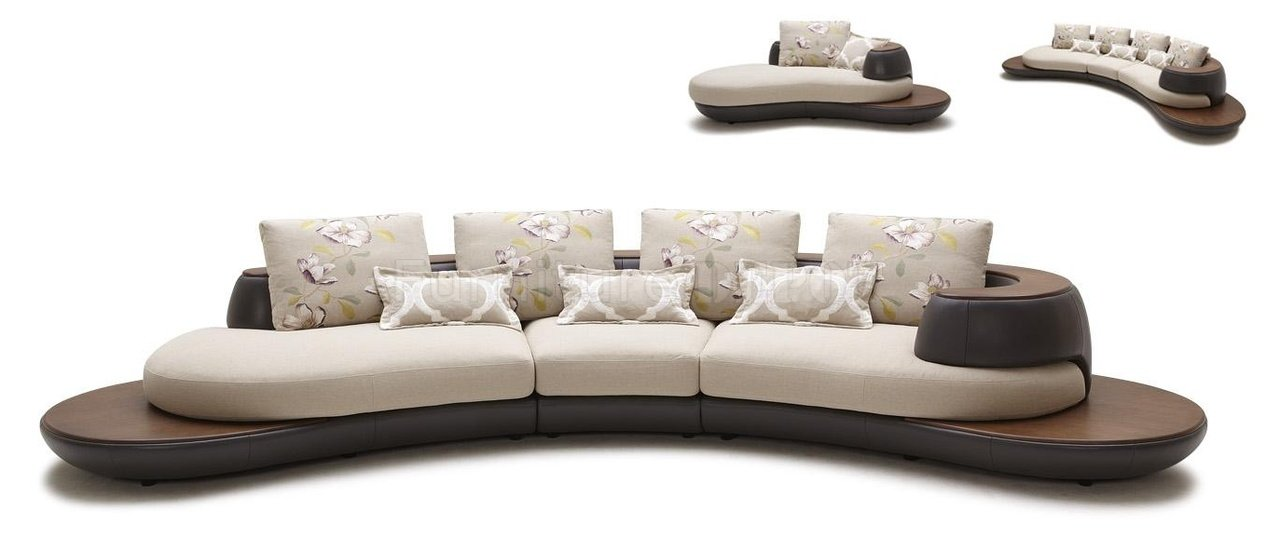 modern sectional sofa chaise photo - 3