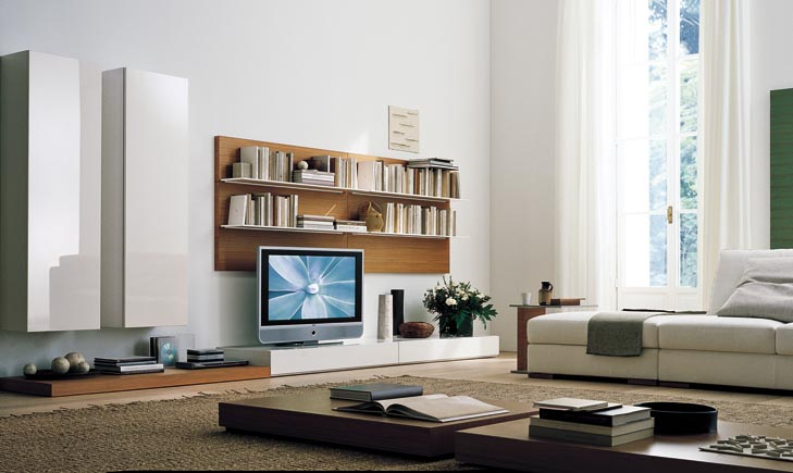 modern tv unit design ideas photo - 2