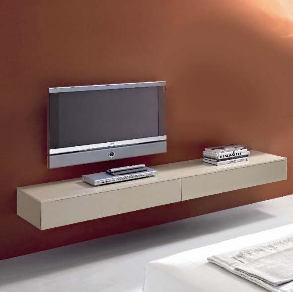 modern tv unit design ideas photo - 3
