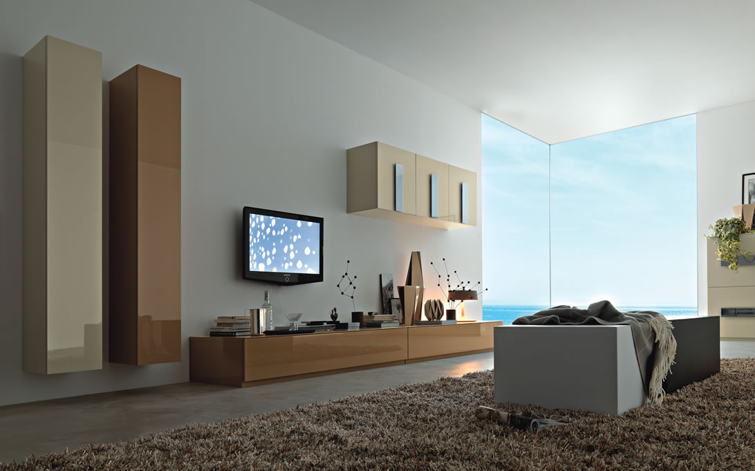 modern tv unit design ideas photo - 5