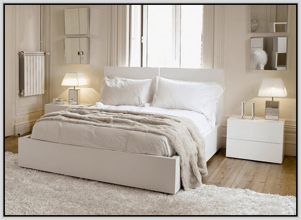 modern white bedroom furniture sets photo - 6