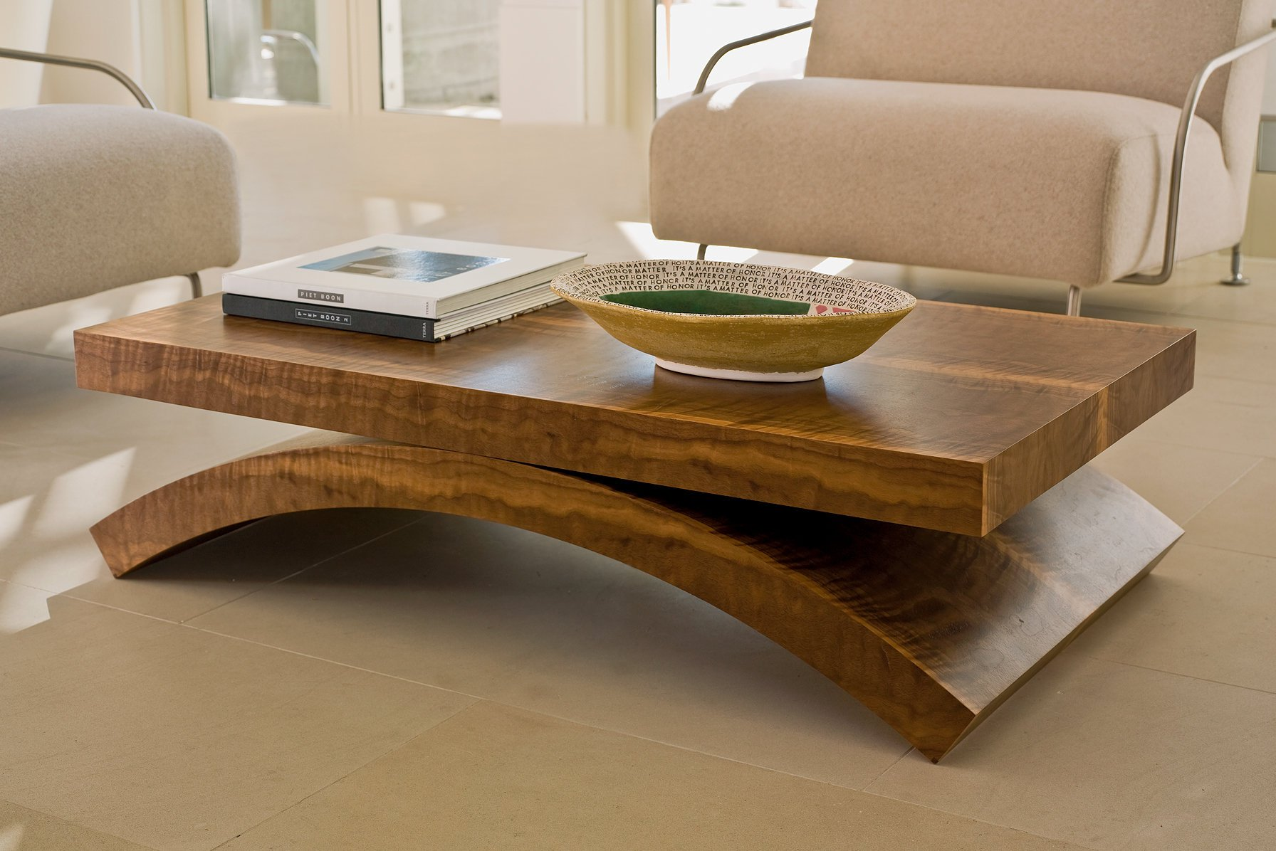 modern wood coffee table designs photo - 3