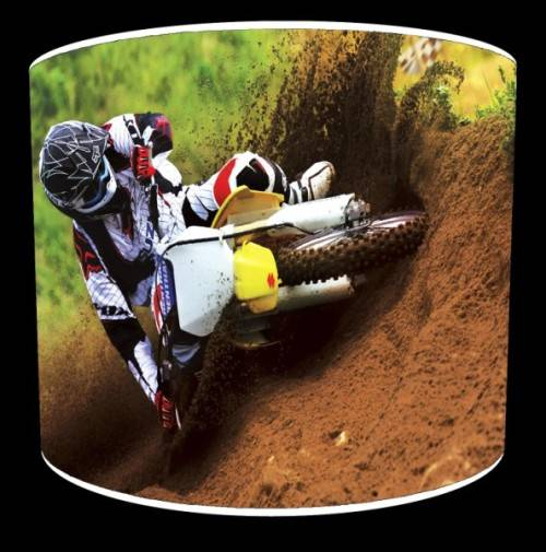 motocross bedroom lamp photo - 1