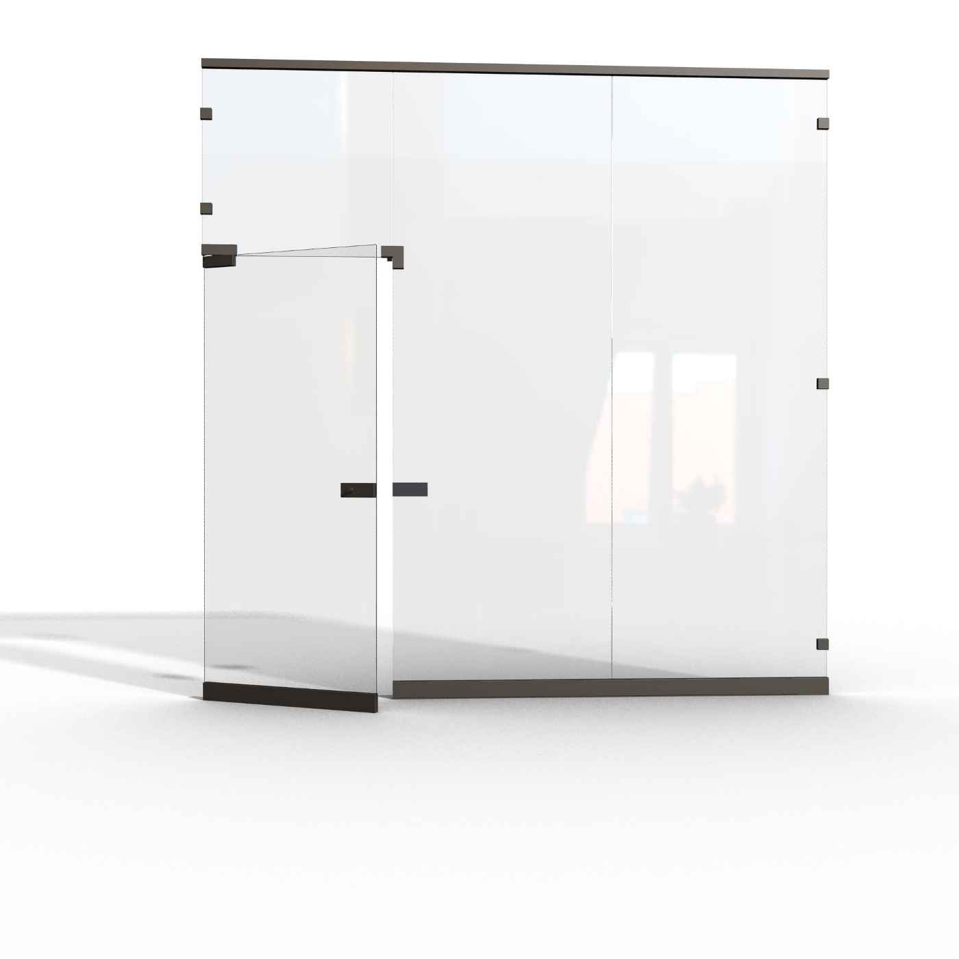 Making Your Working Space Unique And Enjoyable With Office: office partition walls with doors