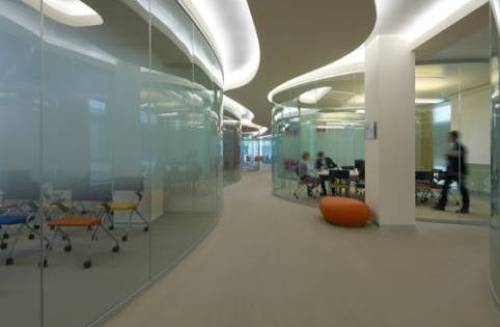 office design glass walls photo - 3
