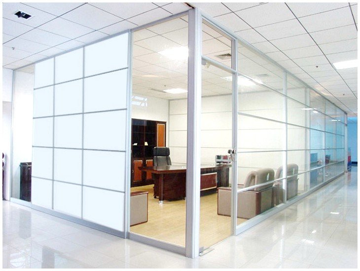 office design glass walls photo - 4