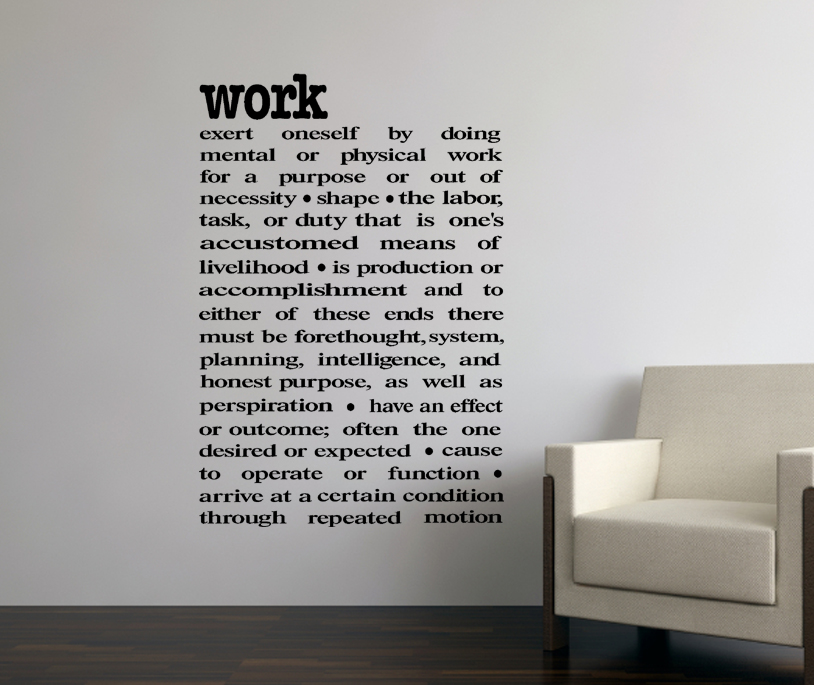 office wall decor stickers photo - 5