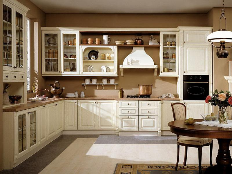 old country kitchen designs photo - 2