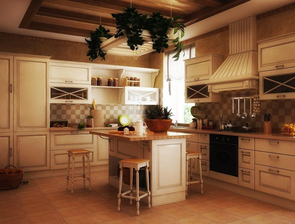 old country kitchen designs photo - 6