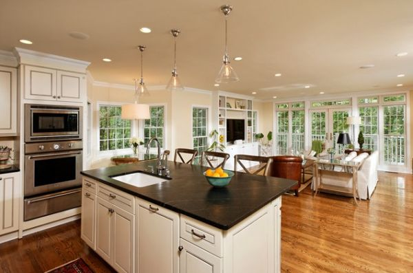 25 Open Country Kitchen Designs