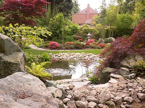 oriental garden design ideas photo - 6