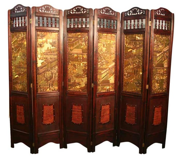 oriental room dividers screens photo - 1