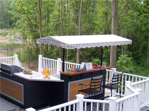 outdoor bar counter designs photo - 2
