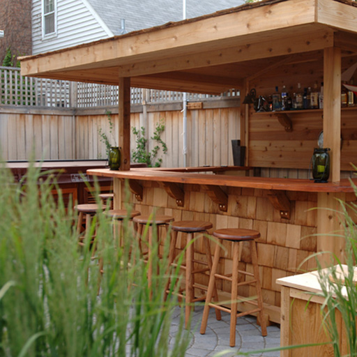 outdoor bar designs for home photo - 1