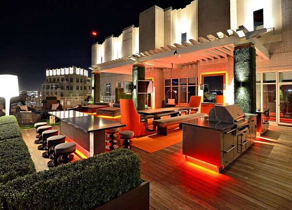 outdoor bar designs for home photo - 4