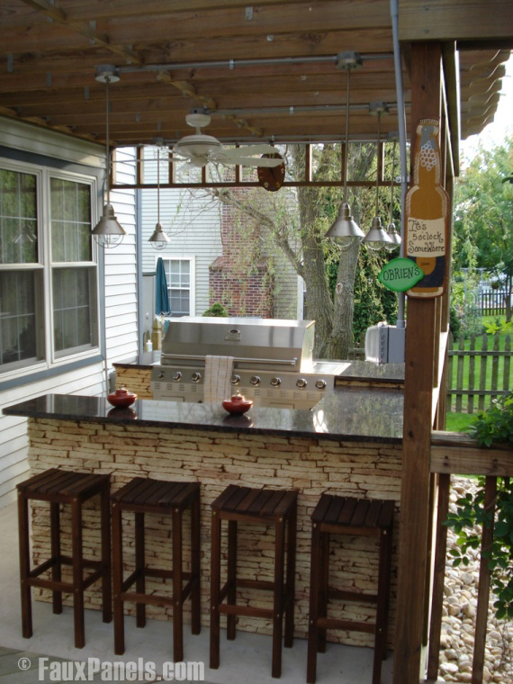 outdoor bar designs for home photo - 5