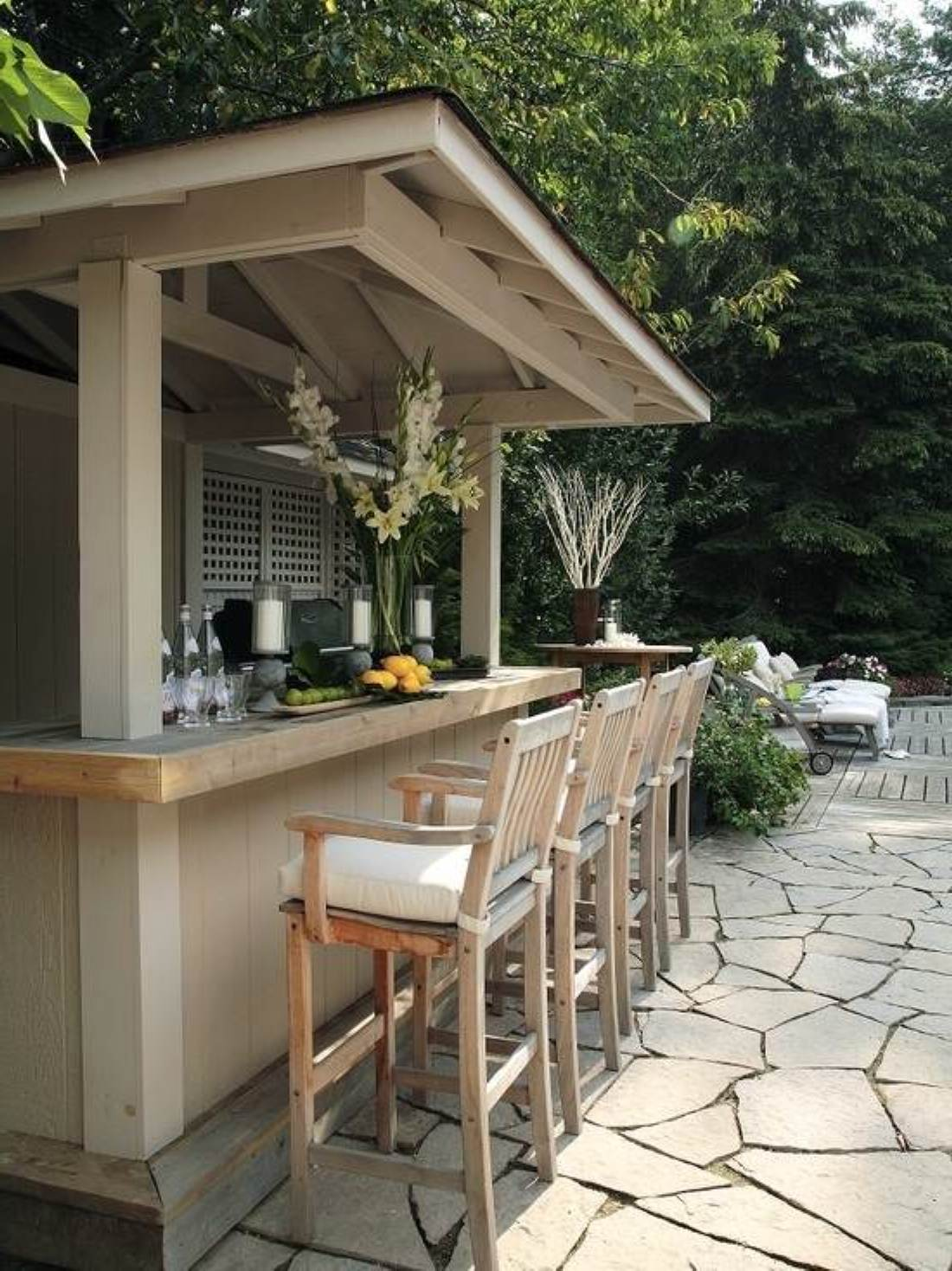 outdoor bar designs for home photo - 6