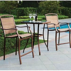 outdoor bar height bistro sets photo - 2