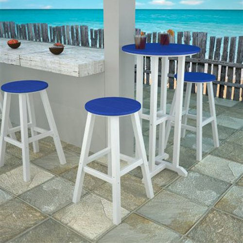 outdoor bar height bistro sets photo - 3