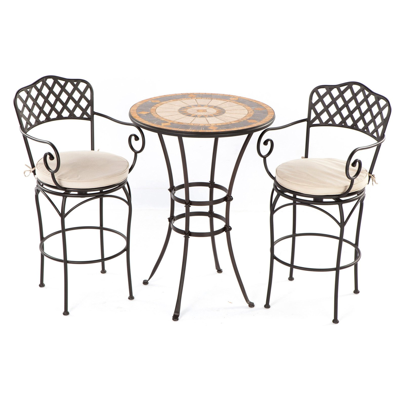 outdoor bar height bistro sets photo - 4