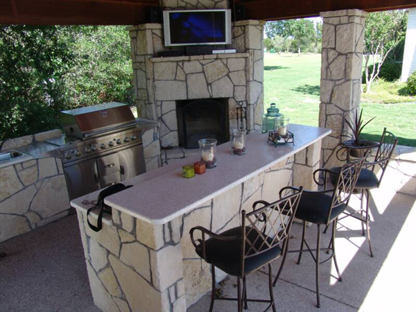 ... Outdoor Bar Plans And Designs Photo   5 ...