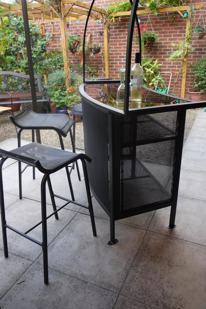 outdoor bar sets with canopy photo - 4